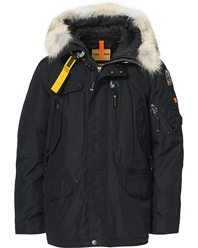 Parajumpers Right Hand Masterpiece Parka Black i gruppen Klær / Jakker / Parkas hos Care of Carl (19244911r)