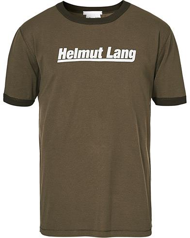 Helmut Lang Base Layer Retro Tee Naval Green