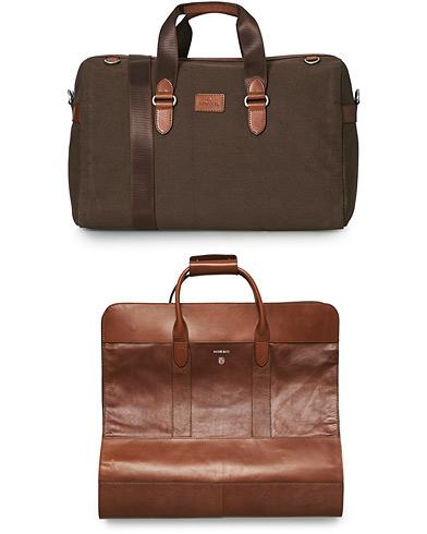 Morris Duncan 2 in 1 Weekend/Wardrobe Bag Chestnut
