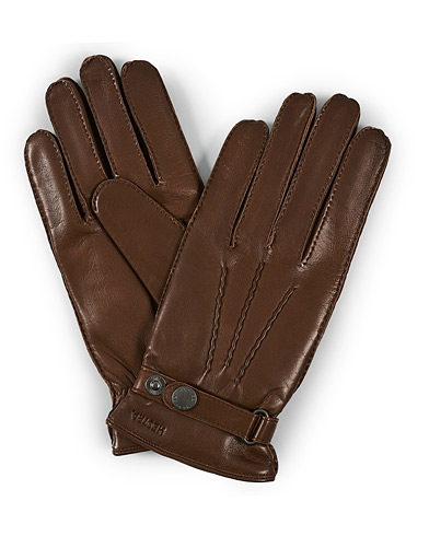 Hestra Jake Wool Lined Buckle Glove Light Brown i gruppen Assesoarer / Hansker hos Care of Carl (19741811r)
