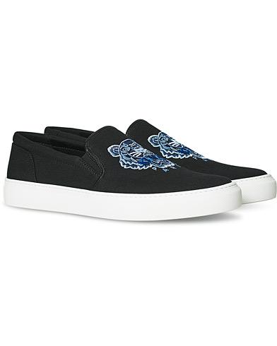 Kenzo Tiger Slip On Sneaker Black