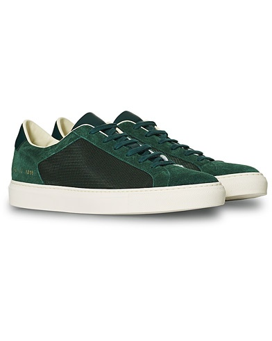 Common Projects Retro Summer Achilles Sneaker Green