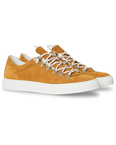 Diemme Marostica Low Sneaker Golden Brown Suede i gruppen Sko / Sneakers / Sneakers med lavt skaft hos Care of Carl (20074311r)