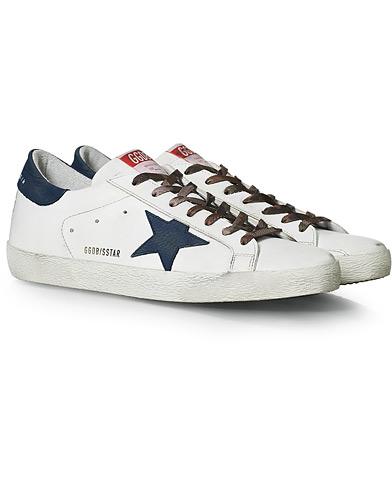 Golden Goose Deluxe Brand Superstar Nubuck Star White/Navy