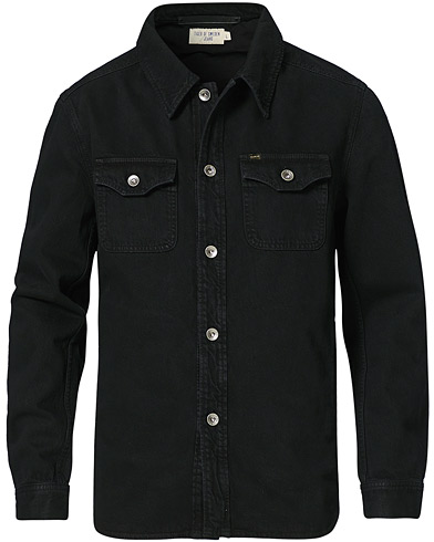 Tiger of Sweden Jeans Get Organic Cotton Denim Jacket Black i gruppen Klær / Jakker / Jeansjakker hos Care of Carl (20096411r)