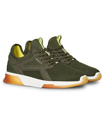 GANT Hightown Sneaker Olive Green