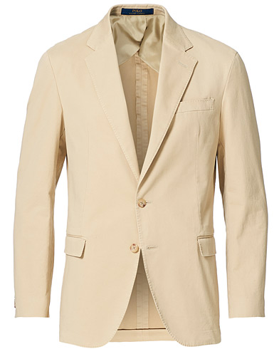Polo Ralph Lauren Garment Dyed Cotton Sportcoat Tan