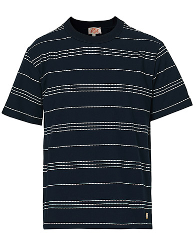 Armor-lux Heritage Barnaby T-Shirt Navy/Milk