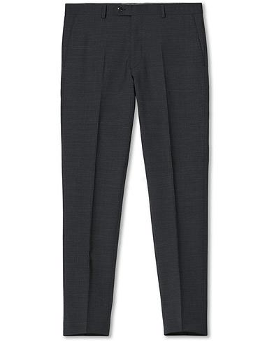 Oscar Jacobson Denz Wool Trousers Grey