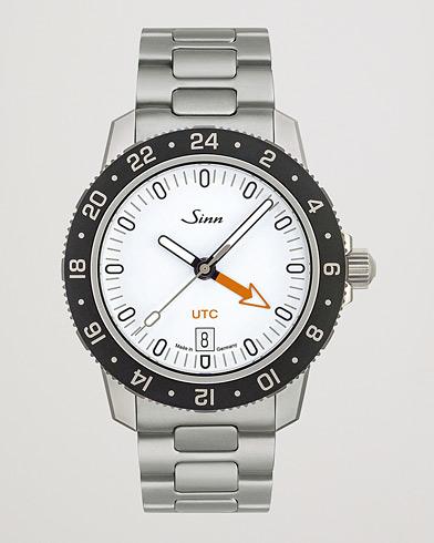 Sinn 105 UTC Sport Watch 41mm White