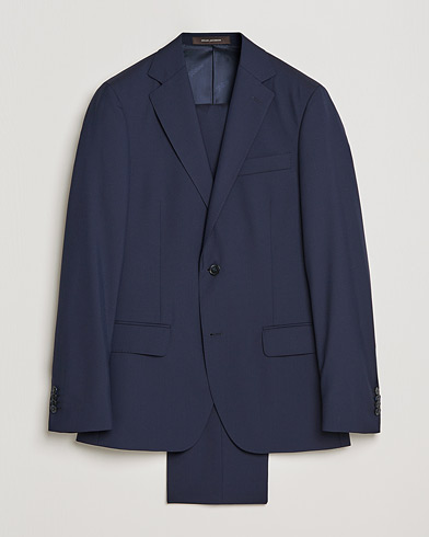 Edmund Suit Super 120's Wool Navy i gruppen Klær / Dresser hos Care of Carl (SA000053)