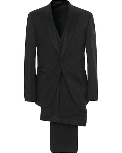 BOSS Halwod Peak Lapel Tuxedo Black