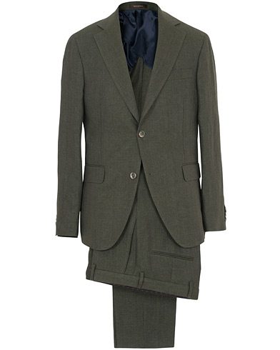 Egel Linen Suit Green i gruppen Klær / Dresser hos Care of Carl (SA000219)
