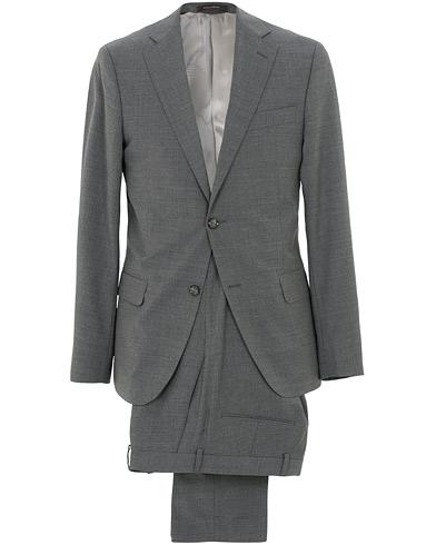 Edmund Wool Suit Light Grey