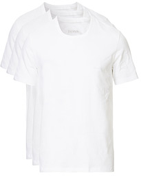 BOSS 3-Pack Crew Neck T-Shirt White
