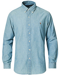 Polo Ralph Lauren Custom Fit Shirt Chambray Washed