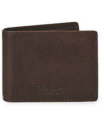 Oscar Jacobson Leather Wallet Dark Brown