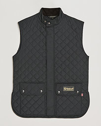 Waistcoat Quilted Black