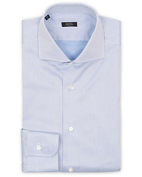 Barba Napoli Slim Fit Shirt Light Blue