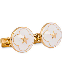 Cuff Links Polar Star White