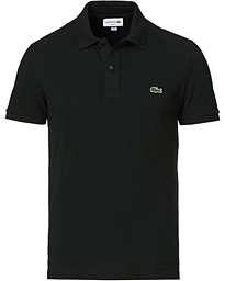 Lacoste Slim Fit Polo Piké Black