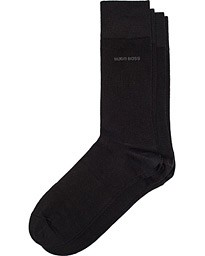 BOSS 2-Pack RS Uni Socks Black