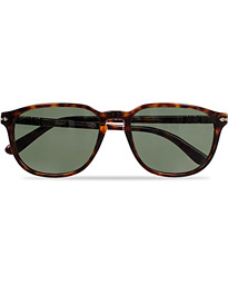 PO3019S Sunglasses Havana/Crystal Green