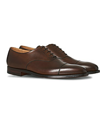 Crockett & Jones Hallam Oxford Dark Brown Calf