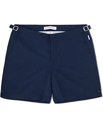 Bulldog Medium Length Swim Shorts Navy