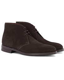 Loake 1880 Pimlico Chukka Boot Dark Brown Suede