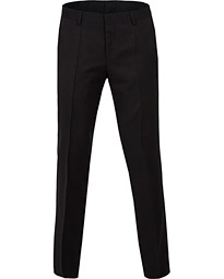BOSS Gibson Regular Fit Wool Trousers Black