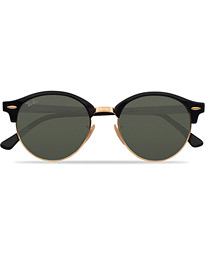 0RB4246 Clubround Sunglasses Black/Green