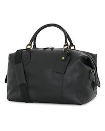 6c48a129 Barbour Lifestyle Leather Medium Travel Explorer Black