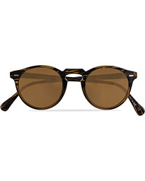 Gregory Peck Sunglasses Tortoise Havana/Brown