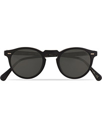 Gregory Peck Sunglasses Black/Midnight