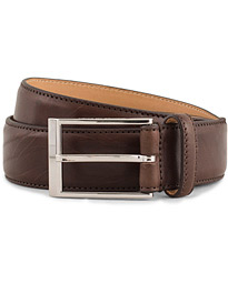 Tiger of Sweden Helmi Leather 3,5 cm Belt Brown