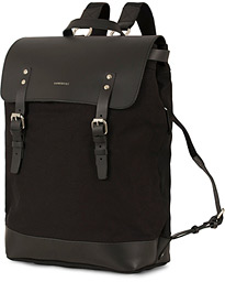 Hege Canvas Backpack Black