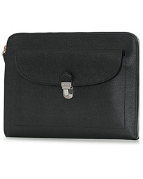 Tod's Tuc Document Case Grained Black
