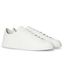 C.QP Racquet Sneaker White Leather