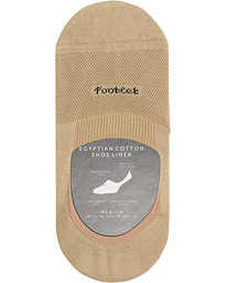 Pantherella Footlet Cotton/Nylon Sock Khaki