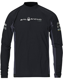 Sail Racing 50 KTS Orca Rashguard Long Sleeve Tee Carbon