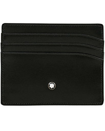 Meisterstück Pocket 6 Credit Card Holder Black