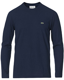 Lacoste Long Sleeve Crew Neck Tee Marine