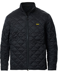 Barbour International Gear Quilted Jacket Black