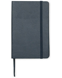 Ruled Hard Notebook Pocket Sapphire Blue