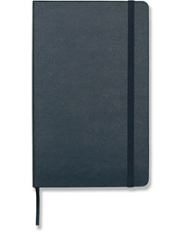Moleskine Ruled Hard Notebook Large Sapphire Blue