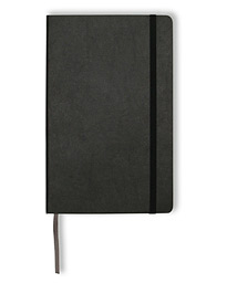Ruled Soft Notebook Large Black