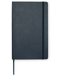 Moleskine Ruled Soft Notebook Large Sapphire Blue