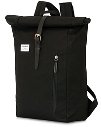 Dante Roll Top Backpack Black