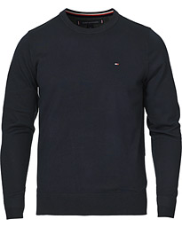 Tommy Hilfiger Cotton/Silk Crew Neck Pullover Sky Captain